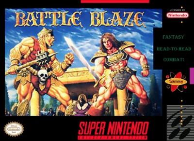 Battle Blaze Cover Art