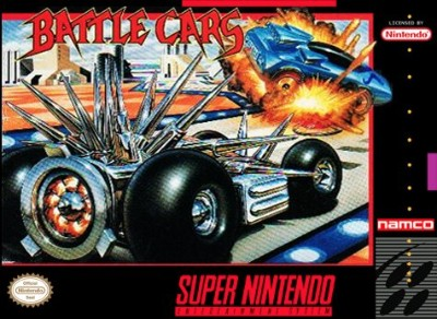 Battle Cars Cover Art