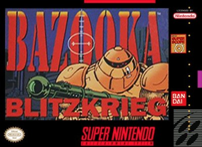 Bazooka Blitzkrieg Cover Art
