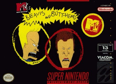 Beavis and Butt-head Cover Art