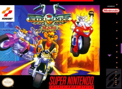 Biker Mice from Mars Cover Art