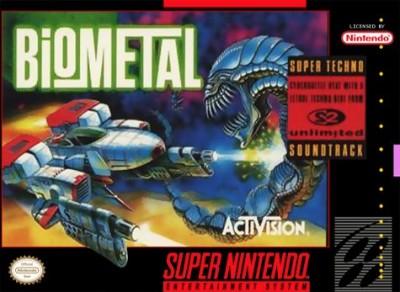 BioMetal Cover Art