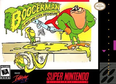 Boogerman: A Pick and Flick Adventure Cover Art
