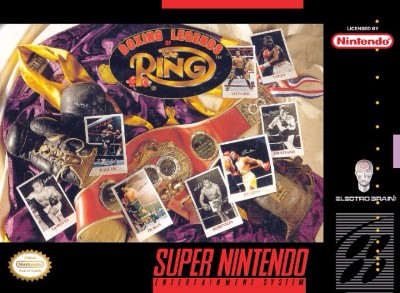 Boxing: Legends of the Ring Cover Art