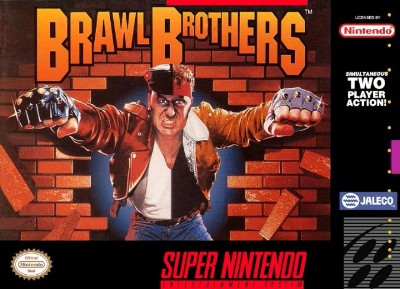 Brawl Brothers Cover Art