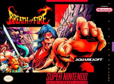 Breath of Fire Cover Art