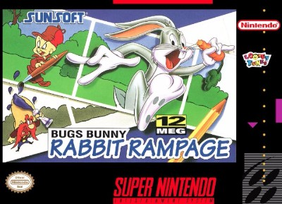 Bugs Bunny: Rabbit Rampage Cover Art
