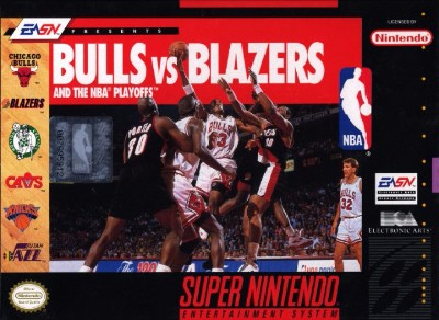 Bulls vs Blazers and the NBA Playoffs Cover Art