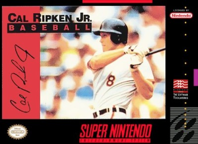 Cal Ripken Jr. Baseball Cover Art