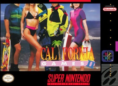 California Games II Cover Art