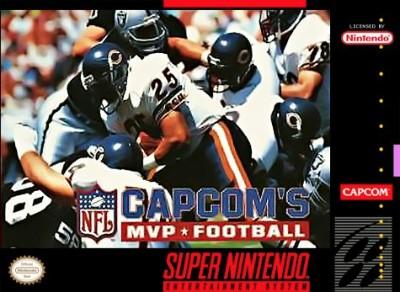 MVP Football Cover Art