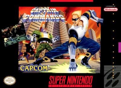 Captain Commando Cover Art