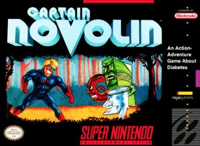 Captain Novolin Cover Art