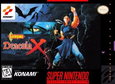 Castlevania: Dracula X Cover Art