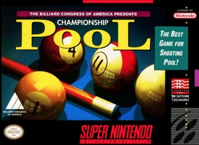 Championship Pool Cover Art