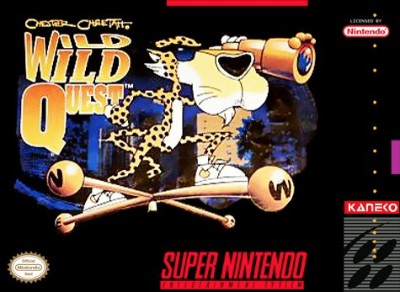 Chester Cheetah: Wild Wild Quest Cover Art