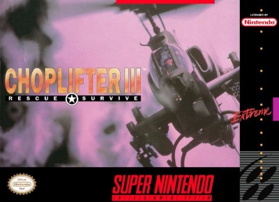 Choplifter III: Rescue & Survive Cover Art