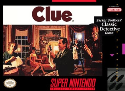 Clue Cover Art