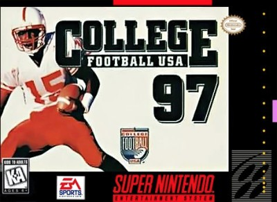 College Football USA '97: The Road to New Orleans Cover Art