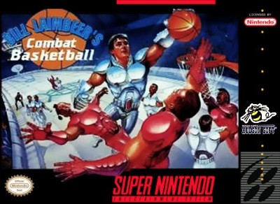 Bill Laimbeer's Combat Basketball Cover Art
