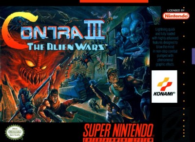 Contra III: The Alien Wars [Not For Resale] Cover Art