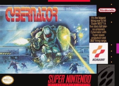 Cybernator Cover Art