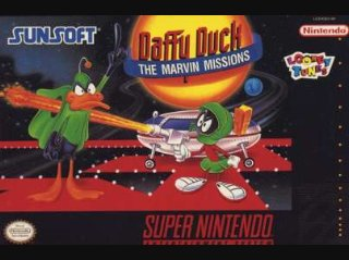 Daffy Duck: The Marvin Missions Cover Art