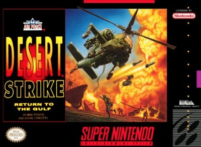 Desert Strike: Return to the Gulf Cover Art