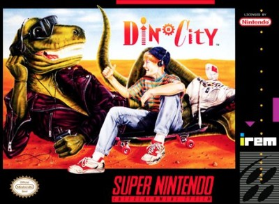 Dino City Cover Art