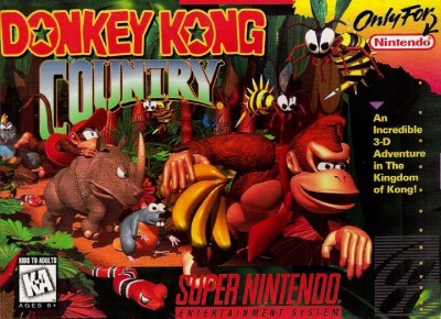 Donkey Kong Country Cover Art
