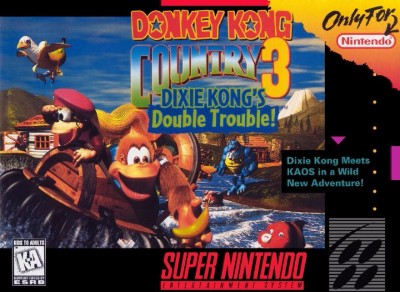 Donkey Kong Country 3: Dixie Kong's Double Trouble! [Not For Resale] Cover Art