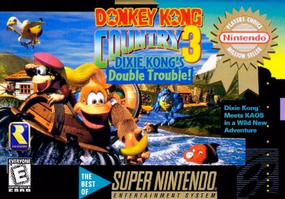Donkey Kong Country 3: Dixie Kong's Double Trouble! [Player's Choice] Cover Art