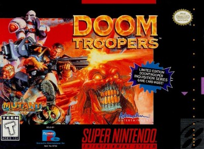 Doom Troopers: The Mutant Chronicles Cover Art