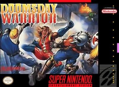 Doomsday Warrior Cover Art