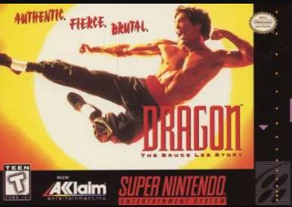 Dragon: The Bruce Lee Story Cover Art