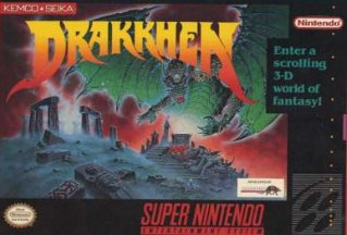 Drakkhen Cover Art