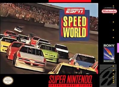 ESPN Speedworld Cover Art