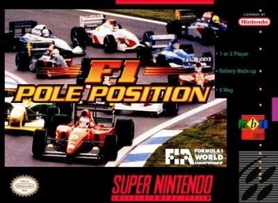 F1 Pole Position Cover Art