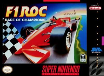 F1 ROC Cover Art