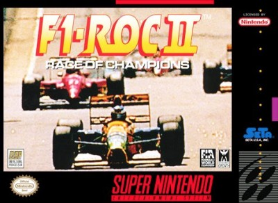 F1 ROC 2: Race of Champions Cover Art