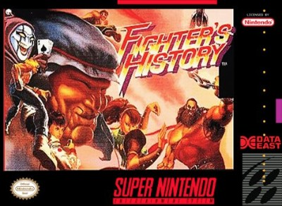 Fighter's History Cover Art