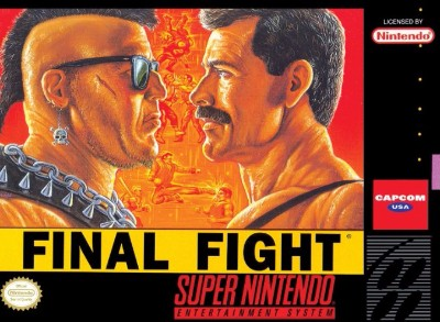 Final Fight Cover Art