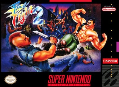 Final Fight 2 Cover Art