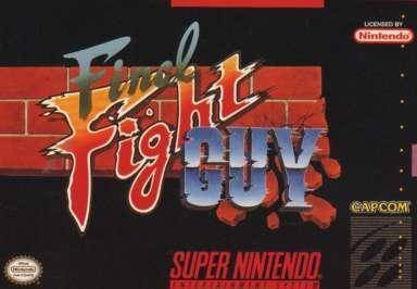 Final Fight Guy Cover Art