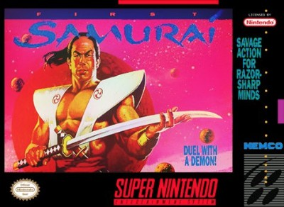 First Samurai Cover Art