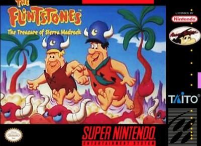 Flintstones: The Treasure of Sierra Madrock Cover Art