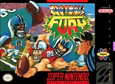 Football Fury Cover Art