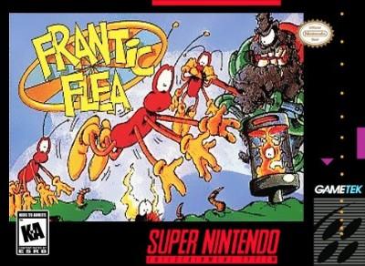 Frantic Flea Cover Art