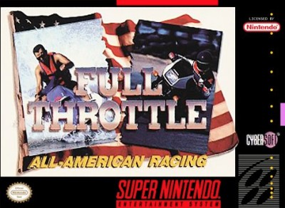 Full Throttle: All-American Racing Cover Art