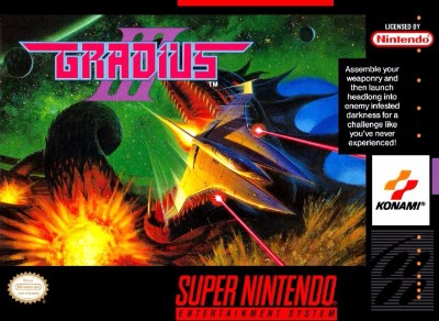 Gradius III Cover Art